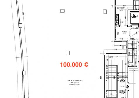 34879 – Entreplanta en Avenida de la Coruña alquiler y venta