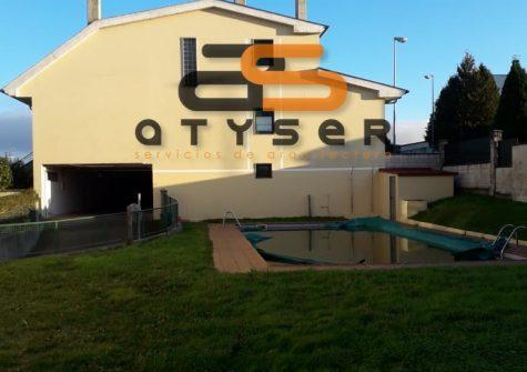 35315 – Chalet adosado con piscina sin estrenar al lado de Lugo