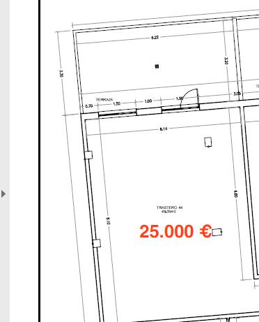 Amplio trastero de 49m2 Avenida de la Coruña