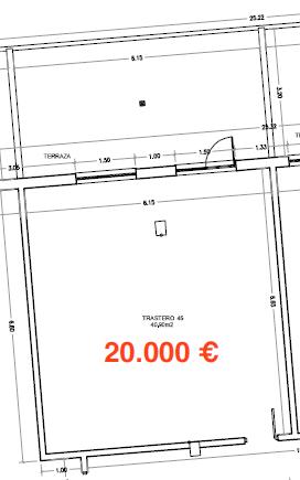 34885 – Amplio trastero de 40m2 en Avenida de la Coruña
