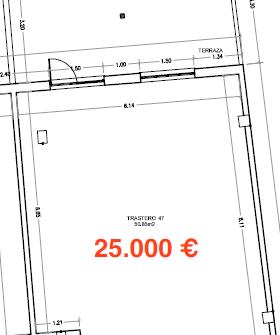 34890 – Amplio trastero de 49m2  en Avenida de la Coruña