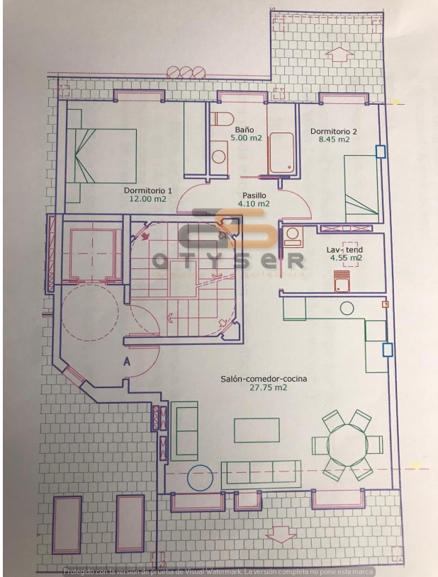 35935-Apartamento en Bolaño Rivadeneira